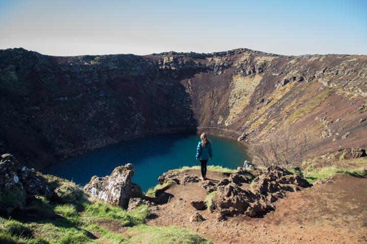 Kerid Lake, Iceland