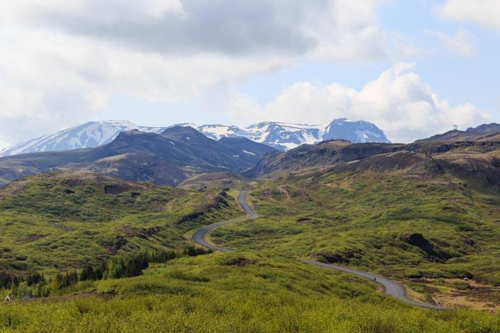 Þingvellir road