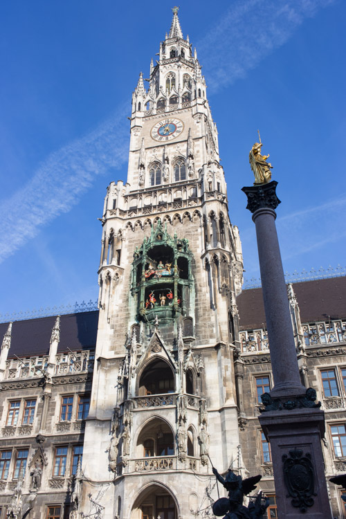Marienplatz Clock Tower