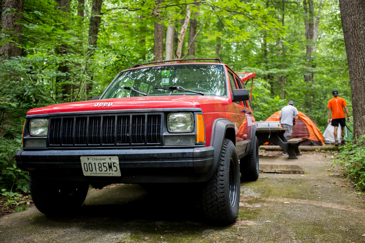 Jeep at Catoctin Mountain Park