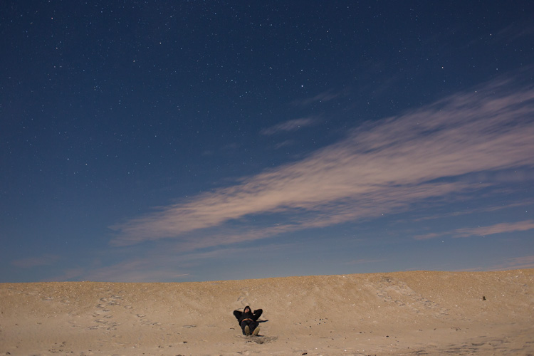 Stargazing at Assateague Island