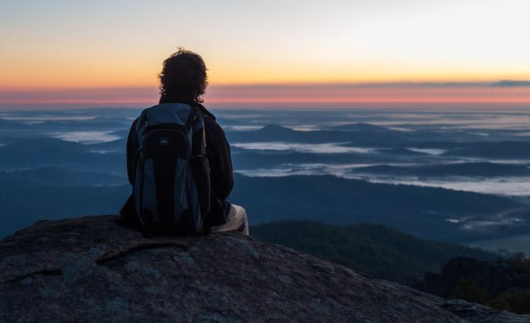Old Rag Mountain sunrise