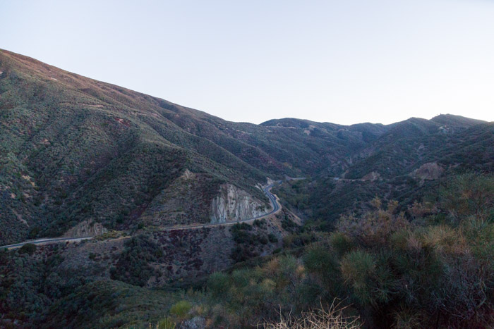Route 33, Los Padres National Forest