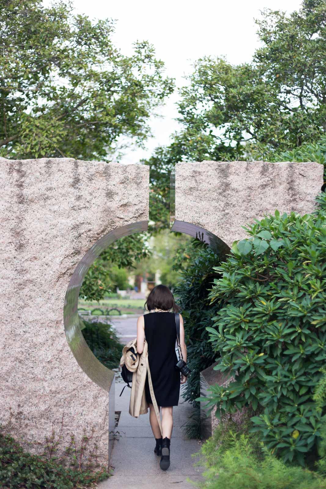 Moongate Garden, D.C.