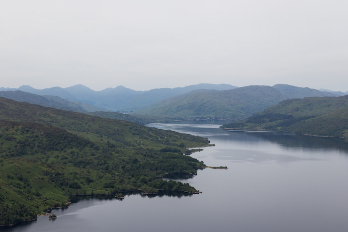 Loch Katrine as seen from Ben A'an