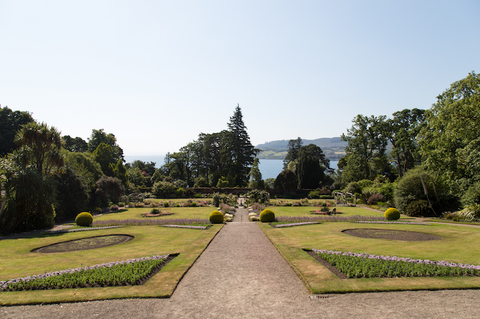Brodick Castle's walled garden