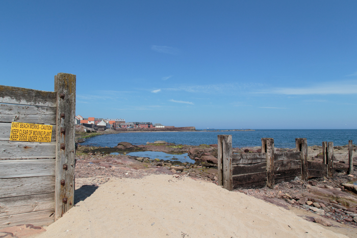 North Berwick beach