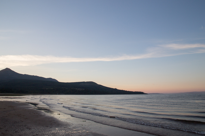 Sunset on the Isle of Arran