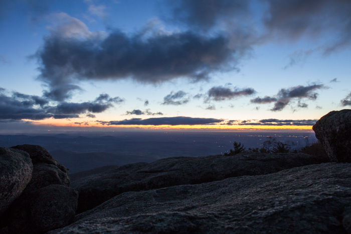 Sunrise at Old Rag Mountain