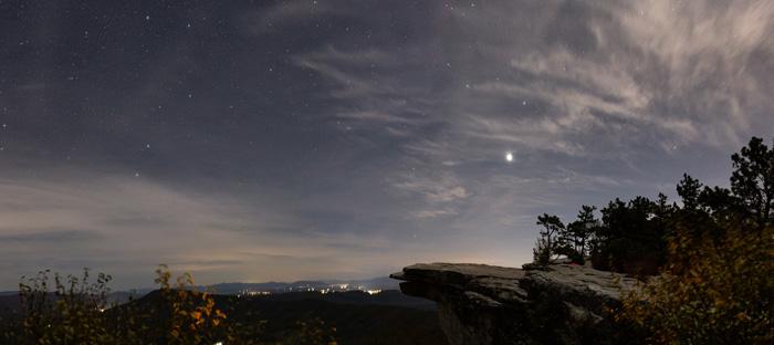 Starry skies, VA